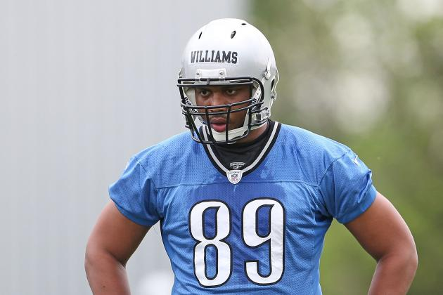 Can Detroit Lions TE Michael Williams Successfully Switch to OT?