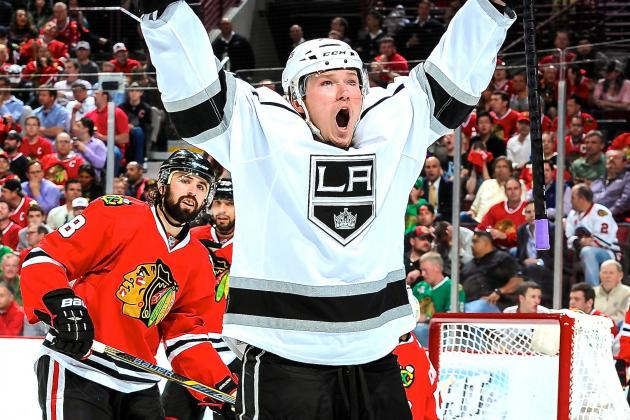 Los Angeles Kings vs. Chicago Blackhawks Game 2: Live Score and Highlights
