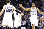 Spurs Rout Thunder, Take 2-0 Series Lead