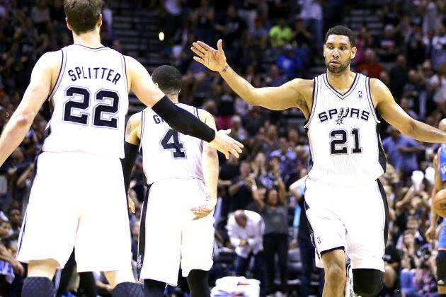 Thunder vs. Spurs: Game 2 Score and Twitter Reaction from 2014 NBA Playoffs