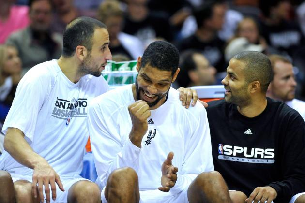 Tony Parker, Manu Ginobili, Tim Duncan Set New NBA Record for Big 3 Playoff Wins