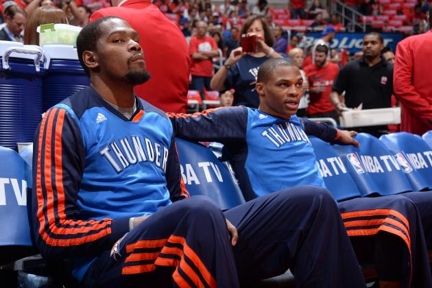 Adjustments Kevin Durant and Russell Westbrook Must Make After Game 2 Disaster