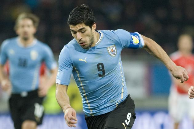 Luis Suarez Injury Threatens Tactical Flexibility for Uruguay at World Cup