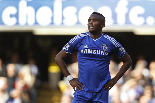 Chelsea Transfer News: Samuel Eto'o Eyed by Spurs, Latest on Eliaquim Mangala