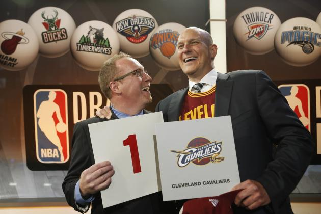 NBA Draft Lottery 2014: Updated Order and Biggest Takeaways from Drawing