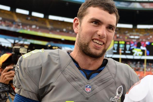 Colt's Andrew Luck Takes Kids to Indy 500