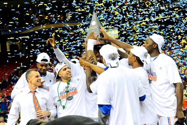 Gators Win Another SEC All-Sports Trophy