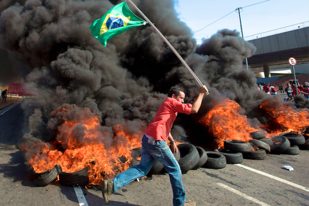 Brazil in a Mad Dash to Prepare for World Cup and More Protests
