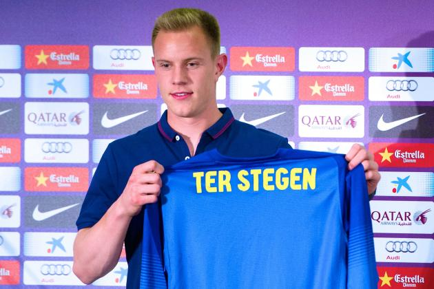 Barcelona Announce Signing of Goalkeeper Marc-Andre ter Stegen