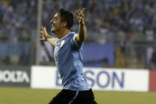 Why Cristian Rodriguez Will Be Uruguay's Surprise Weapon at the World Cup