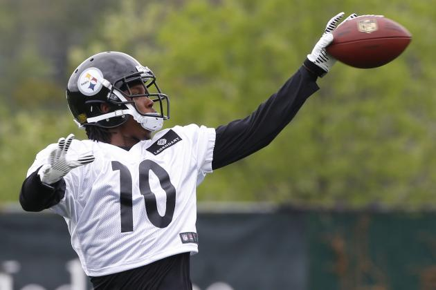 Breaking Down the Battle for Steelers' No. 2 WR Gig