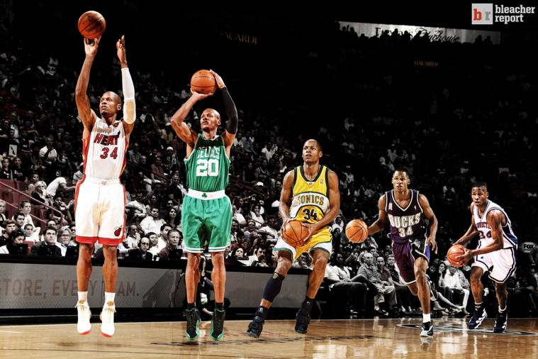 Ageless Ray Allen Adapts to Stay Clutch