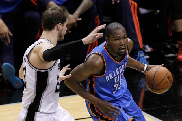 Kevin Durant Still Looking to Pass First Real MVP Test