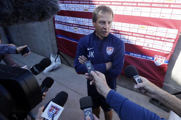 Low Expectations Are Exactly What Jurgen Klinsmann's USMNT Need to Succeed