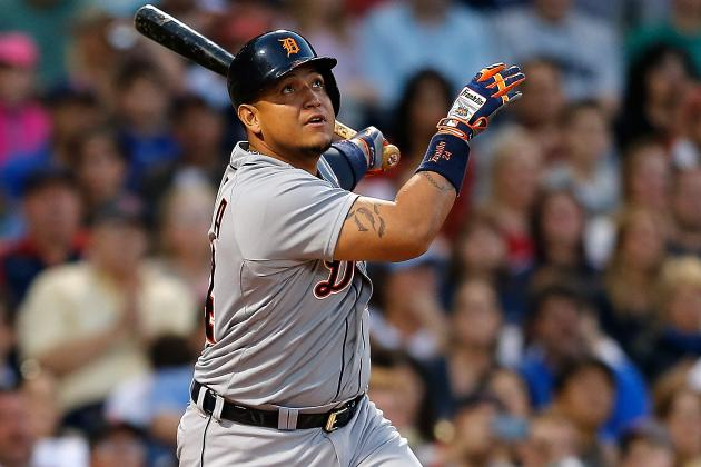 Detroit Tigers' Miguel Cabrera 7th Ever to Rack Up 1,300 RBI in 12 Seasons