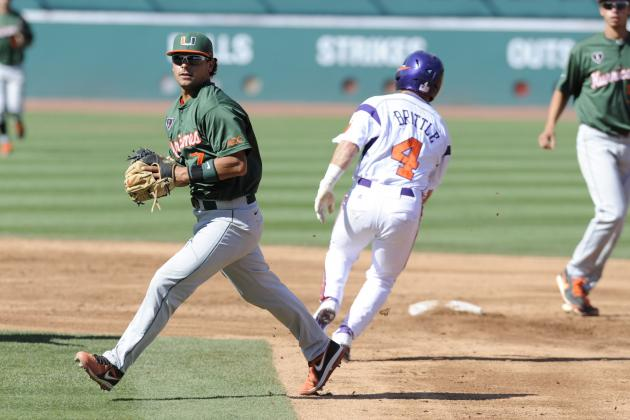ACC Baseball Tournament 2014 Scores: Day 3 Bracket Results and Day 4 Predictions