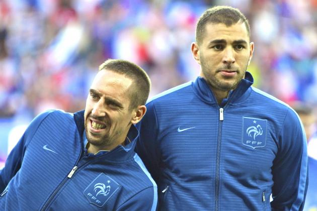 Why World Cup Form Will Dictate Franck Ribery and Karim Benzema's France Futures