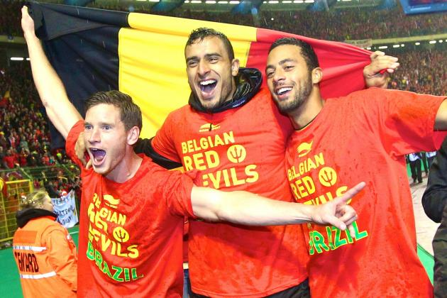 Tottenham Hotspur Trio Have 2014 World Cup Point to Prove with Belgium