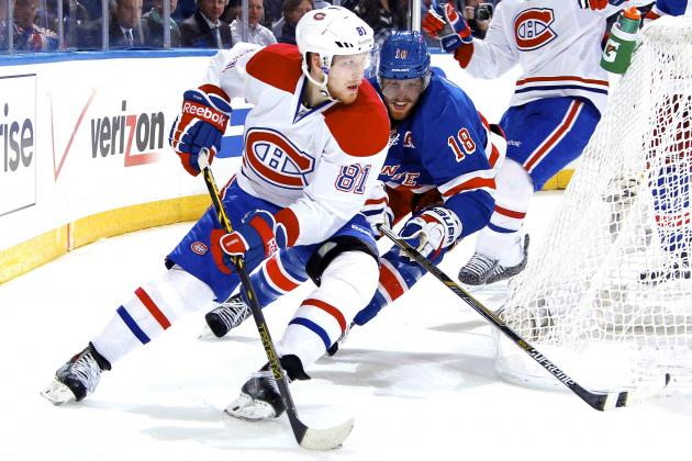 Montreal Canadiens vs. New York Rangers Game 3: Live Score and Highlights