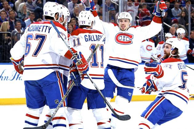 Canadiens vs. Rangers: Game 3 Score and Twitter Reaction from 2014 NHL Playoffs