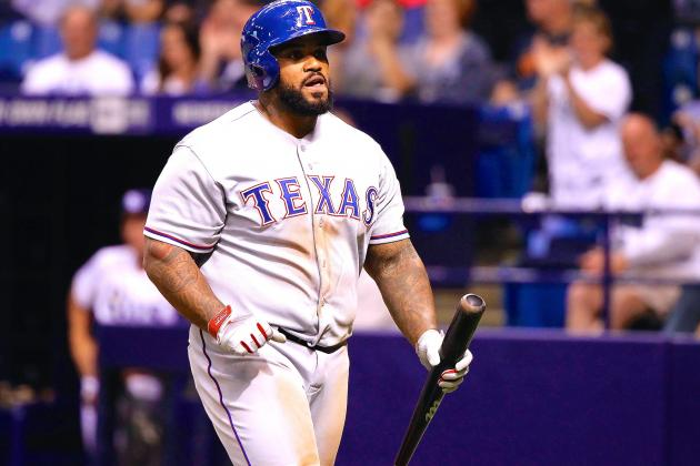 Prince Fielder's Surgery Would Be Knockout Blow to Rangers' Injury-Filled Season