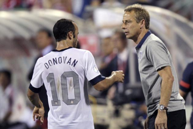 Jurgen Klinsmann Cutting Landon Donovan: Was the Move Personal?