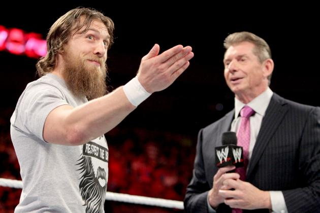 Daniel Bryan Needs Vince McMahon If He Is to Remain WWE World Champion