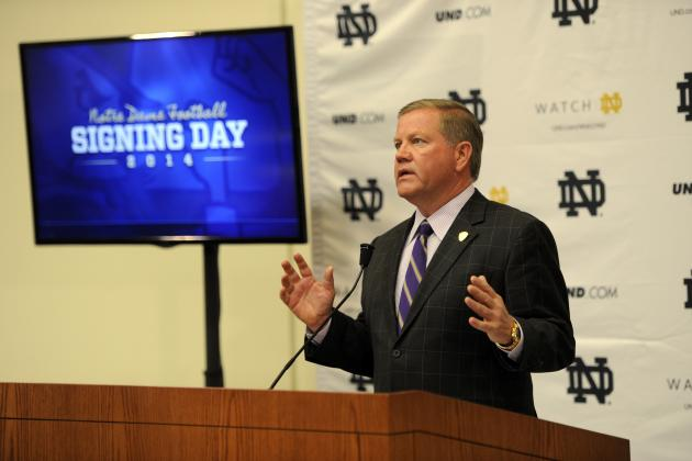 Notre Dame Football: Where the Irish's 2015 Recruiting Class Is Headed