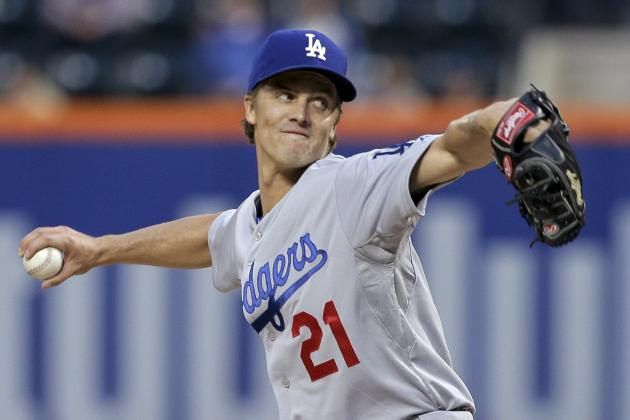 Zack Greinke Breaks Record for Consecutive Starts Allowing 2 Earned Runs or Less