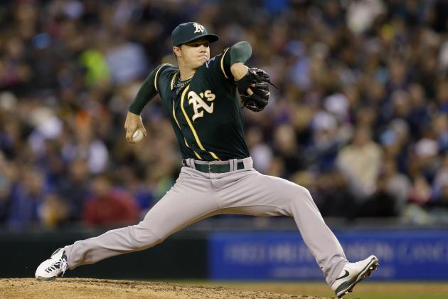 Athletics' Sonny Gray Records 10 Straight Quality Starts to Start Season