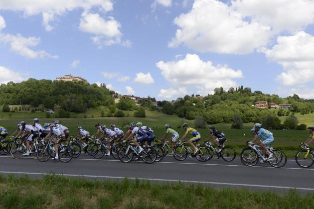 Giro d'Italia 2014 Standings: Stage 13 Results, Leaderboard and Highlights