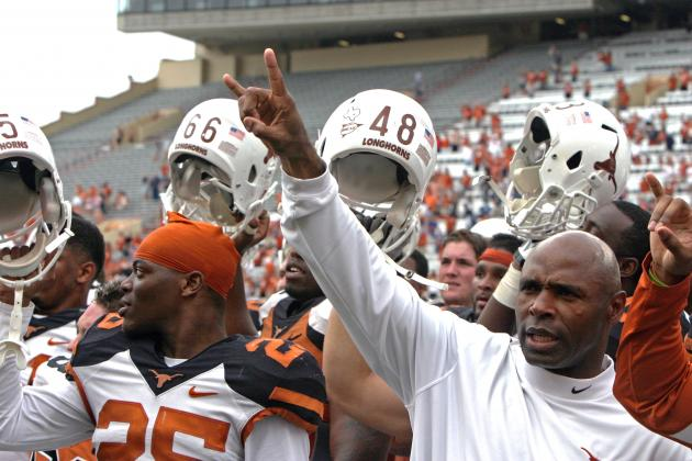 Texas' Tough Schedule Means Charlie Strong's First Year Is About More Than Wins