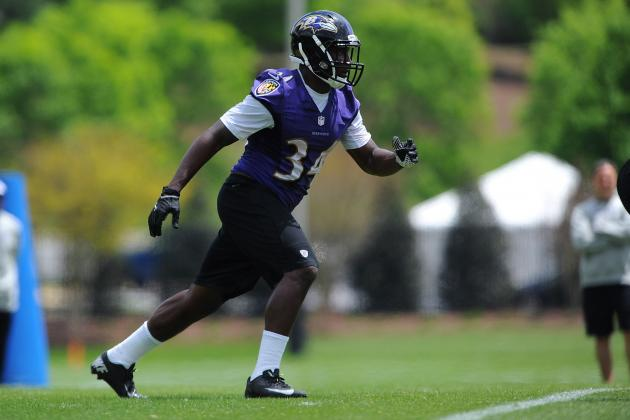 Ravens Rookie Running Back Makes the Most of His Second Chance
