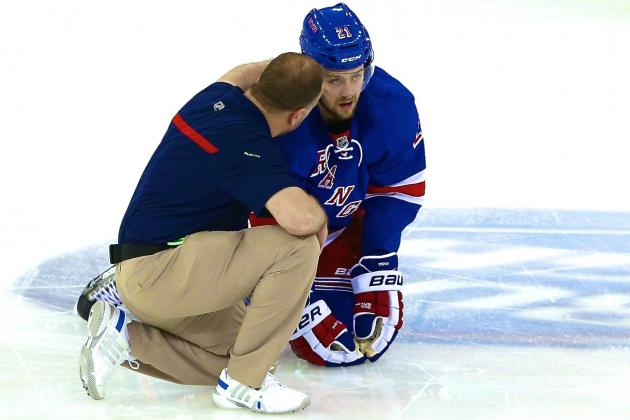 Derek Stepan Injury: Updates on Rangers Center's Recovery from Broken Jaw