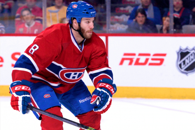 Brandon Prust Suspended 2 Games by NHL over Late Hit on Derek Stepan
