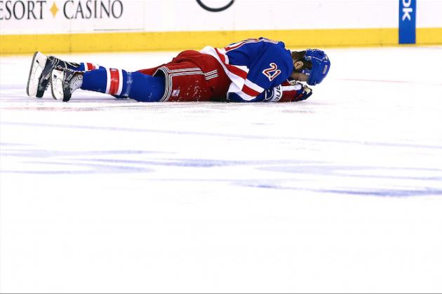 The NHL Is Just as Responsible for Derek Stepan Injury as Brandon Prust