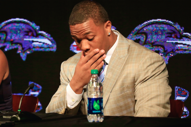Ray Rice Pleads Not Guilty to Aggravated Assault Charge