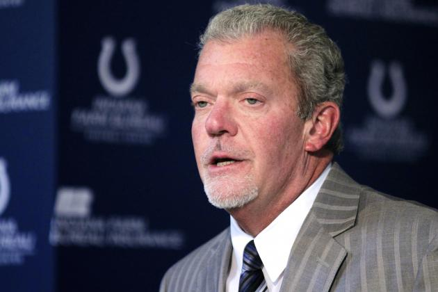 Jim Irsay Charged with 2 Misdemeanors for March Driving Arrest