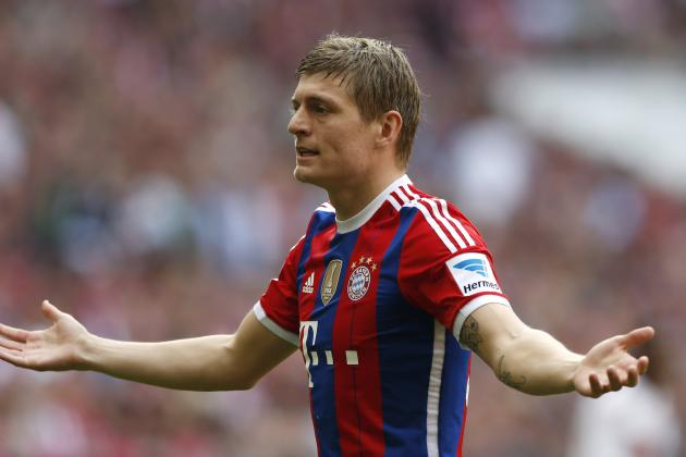 Toni Kroos Smart to Dismiss Manchester United Transfer Rumours