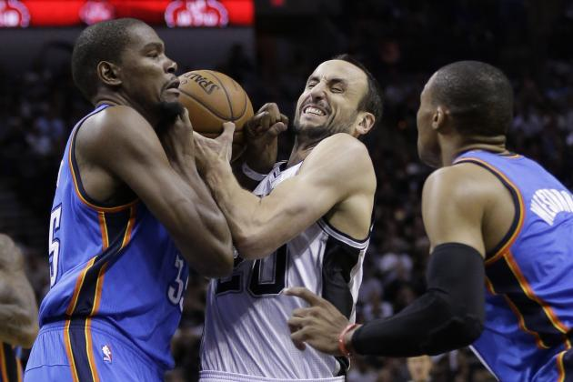 San Antonio Spurs vs. OKC Thunder: Game 3 Preview and Predictions