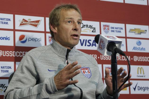USMNT Manager Jurgen Klinsmann Still Has a Lot to Prove