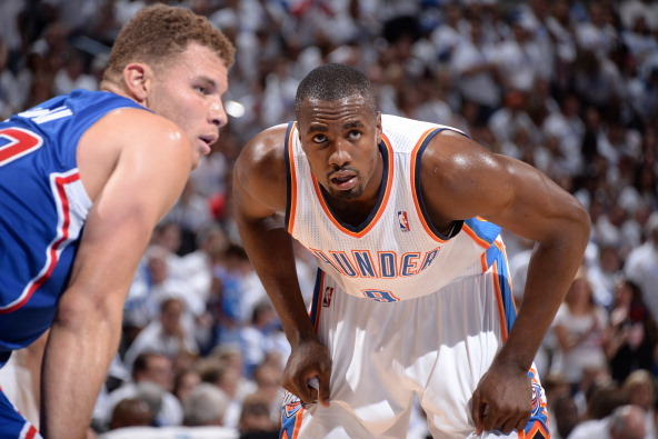 Would Serge Ibaka Give OKC Thunder a Fighting Chance vs. San Antonio Spurs?