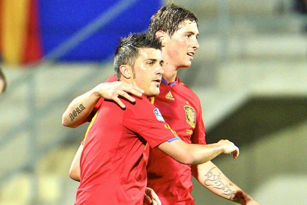Vicente Del Bosque Has a Striker Headache Ahead of Spain's World Cup Defence