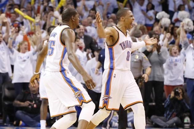Russell Westbrook and Kevin Durant Co-Rule OKC Thunder's Successes and Struggles