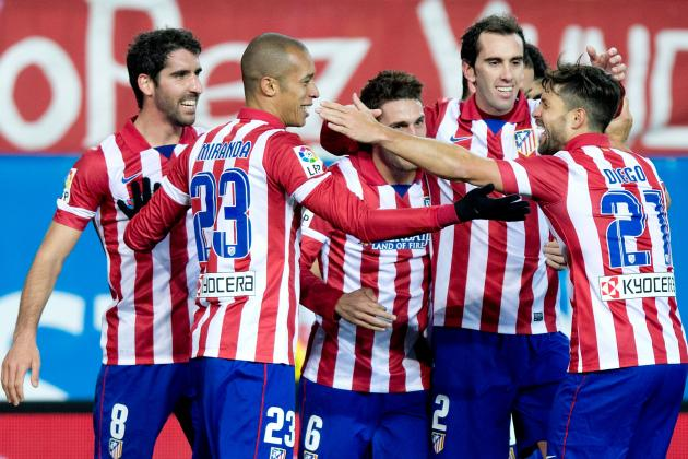 Film Focus: Diego Godin, Miranda Central to Atletico Madrid's Hopes of Success