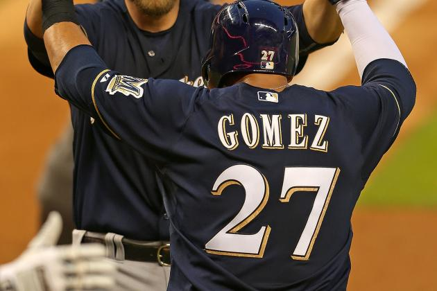 Power Hitting Leads Brewers Past Marlins