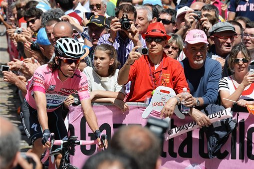 Giro d'Italia 2014 Standings: Stage 14 Results, Leaderboard and Highlights