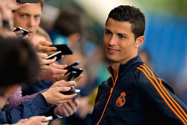 Cristiano Ronaldo to Give Away £750k Bonus If Real Madrid Win Champions League