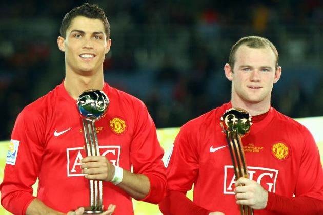 Wayne Rooney Wishes Cristiano Ronaldo Luck in 2014 Champions League Final