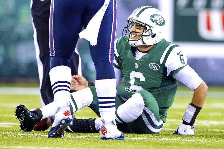 New York Jets Fan Buys Mark Sanchez's 'Butt Fumble' Jersey for $820